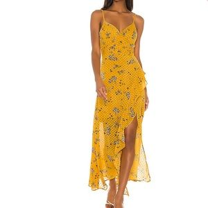Bette Dress in Marigold